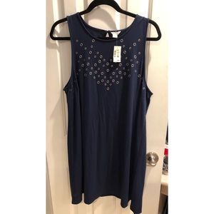 4TH OF JULY NAVY NEW WITH TAGS DRESS XL TRENDY